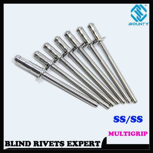 STAINLESS STEEL MULTIGRIP RIVETS