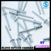 STEEL CLOSED END BLIND RIVETS