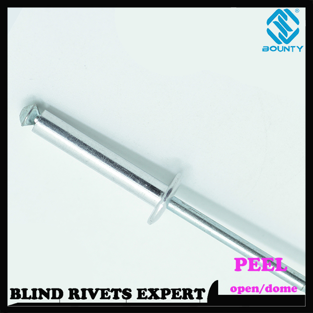 Flat Head Peel Rivets
